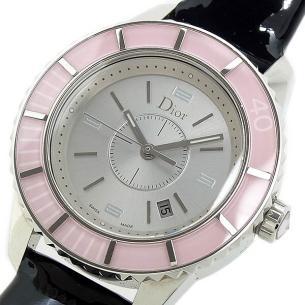 クリスチャンディオール腕時計(ピンク)