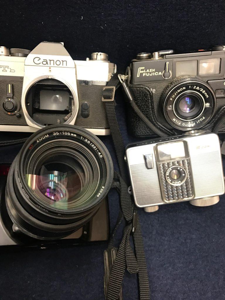 使用しなくなったカメラ