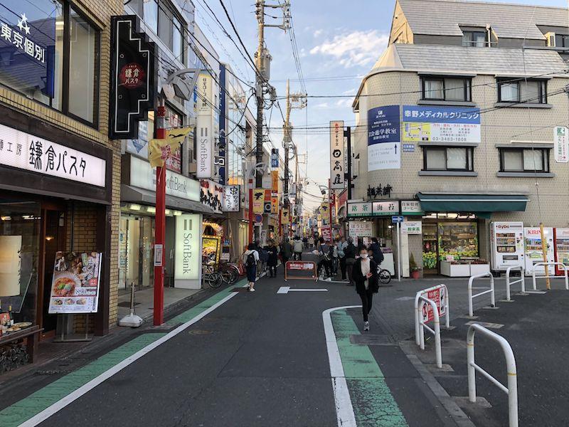 さすがや祖師ヶ谷大蔵店の道案内3