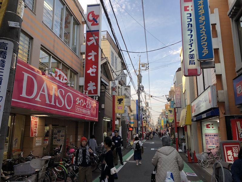 さすがや祖師ヶ谷大蔵店の道案内4