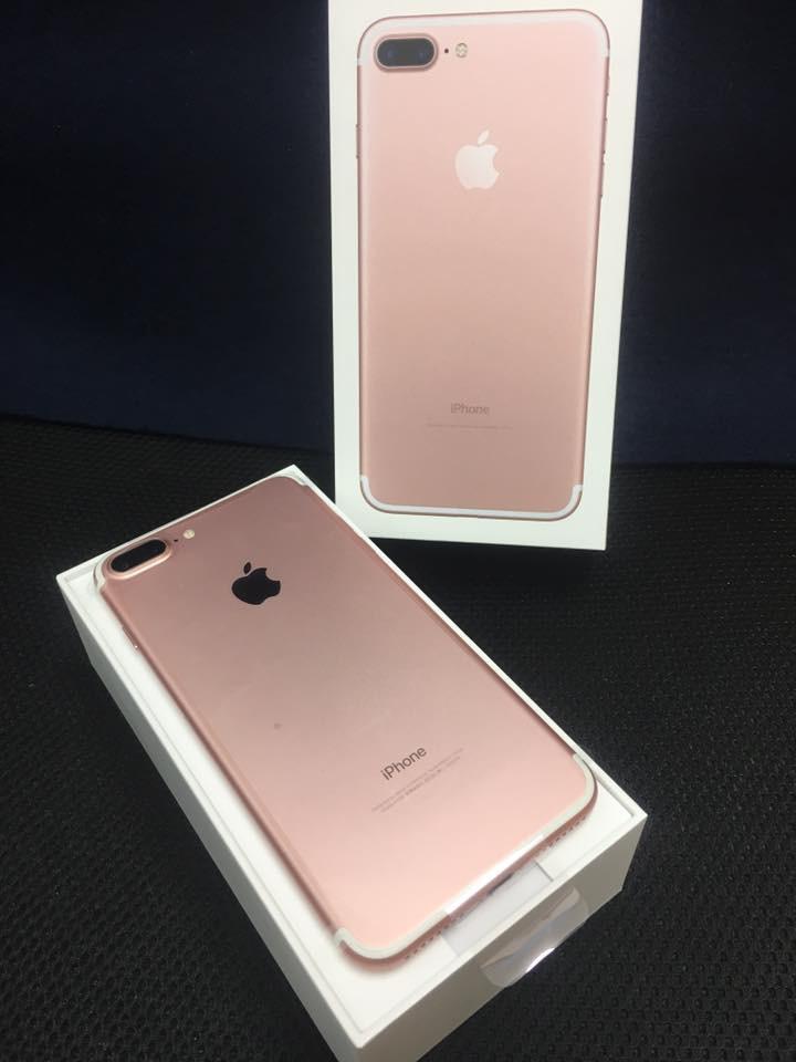 iPhone7ローズゴールド