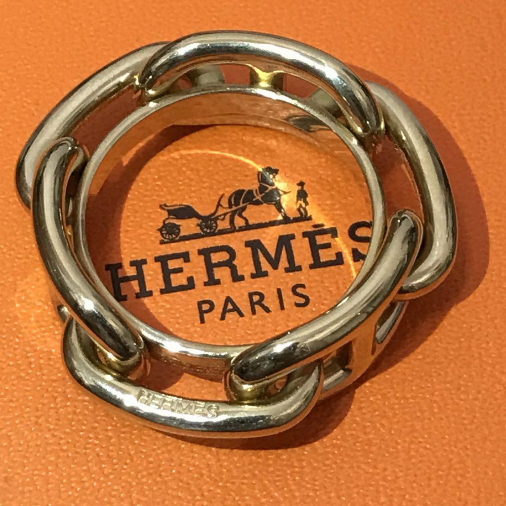 HERMES スカーフリング