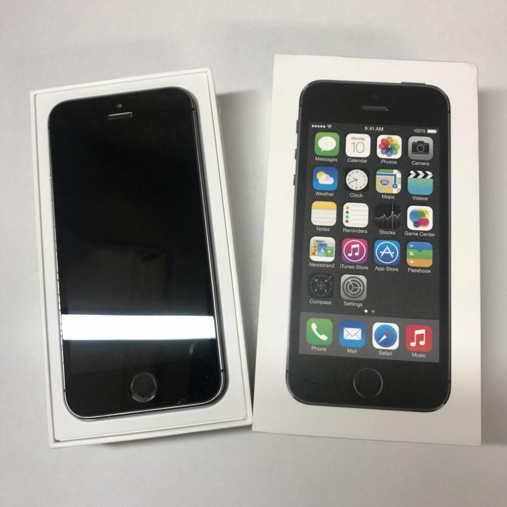 iPhone5s ブラック