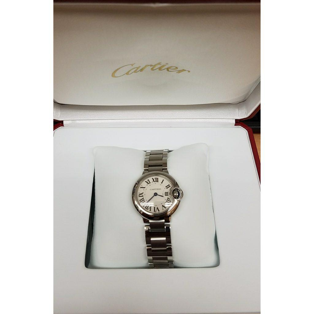 CARTIER バロンブルー  腕時計