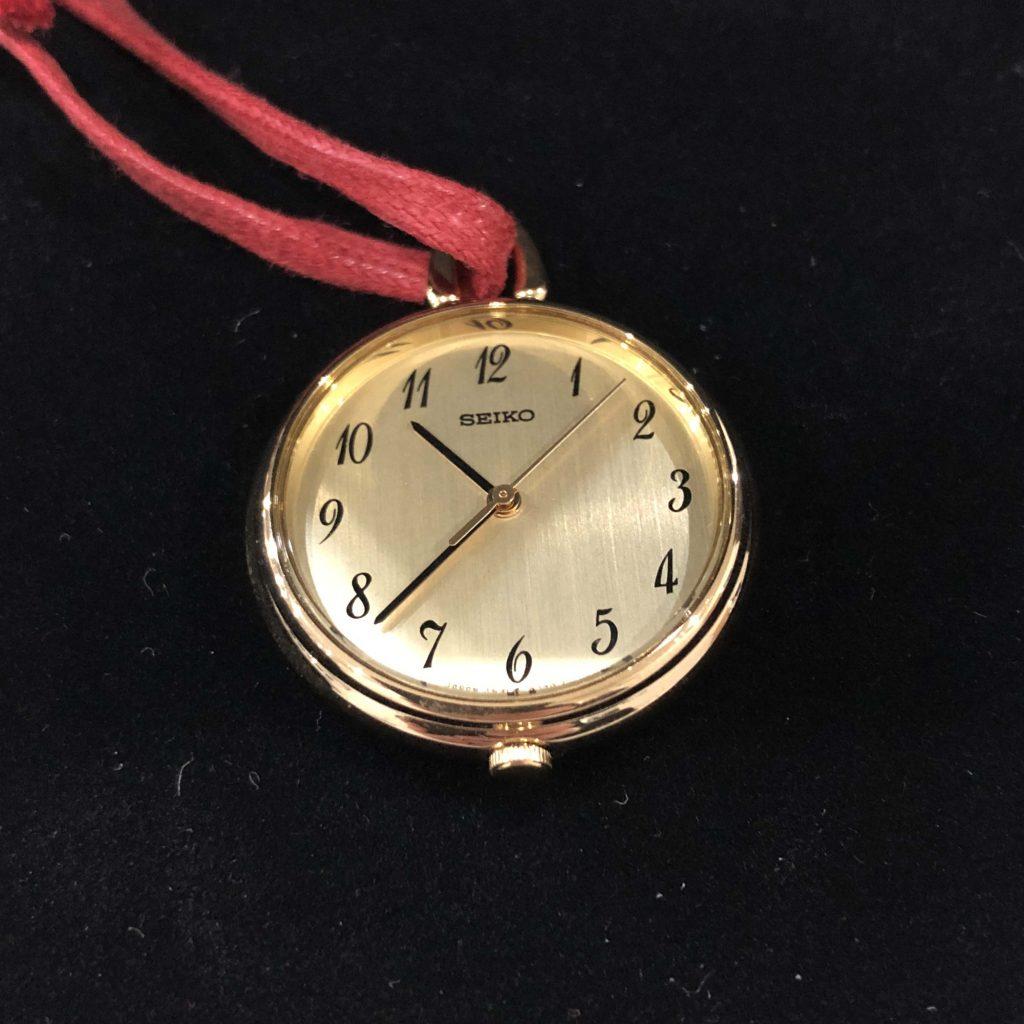 SEIKO レディースクォーツ懐中時計