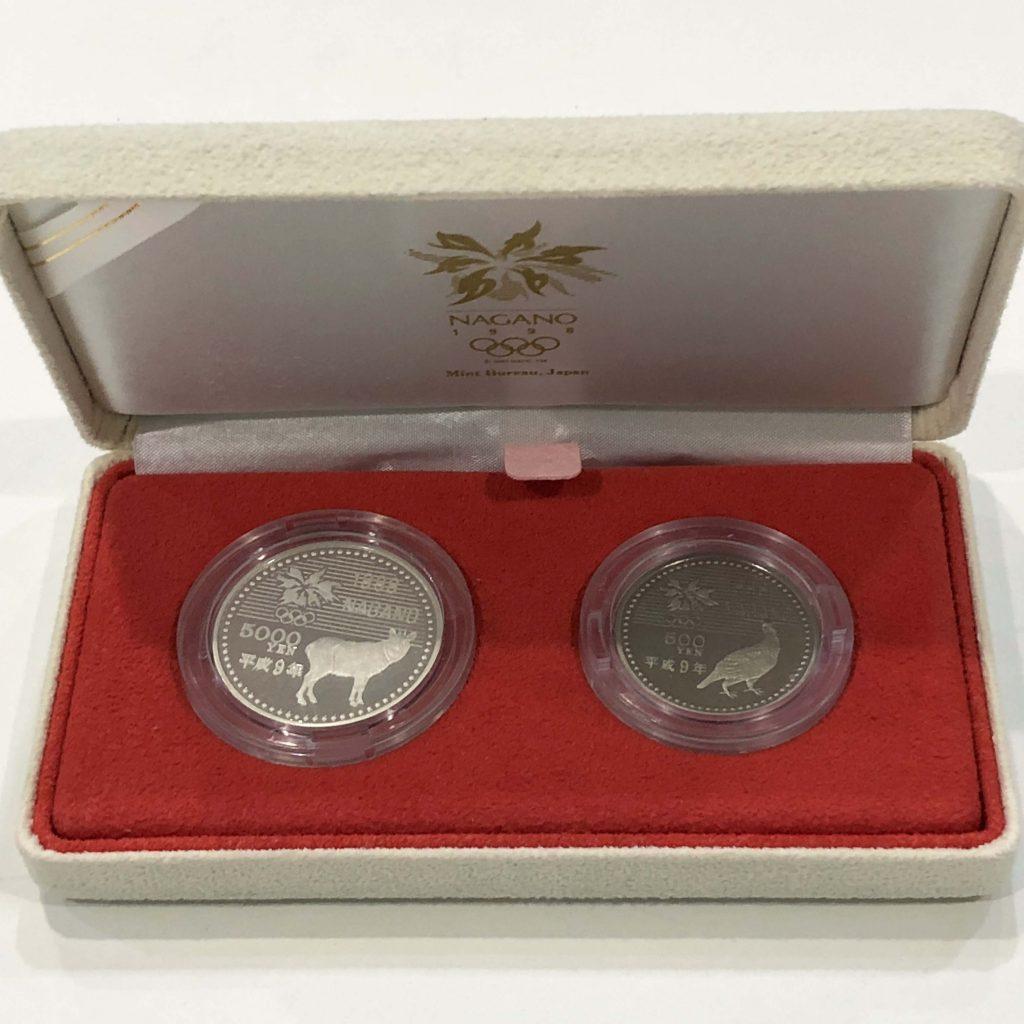 長野オリンピック冬季競技大会記念貨幣