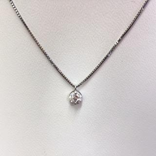 PT900ダイヤモンドネックレス