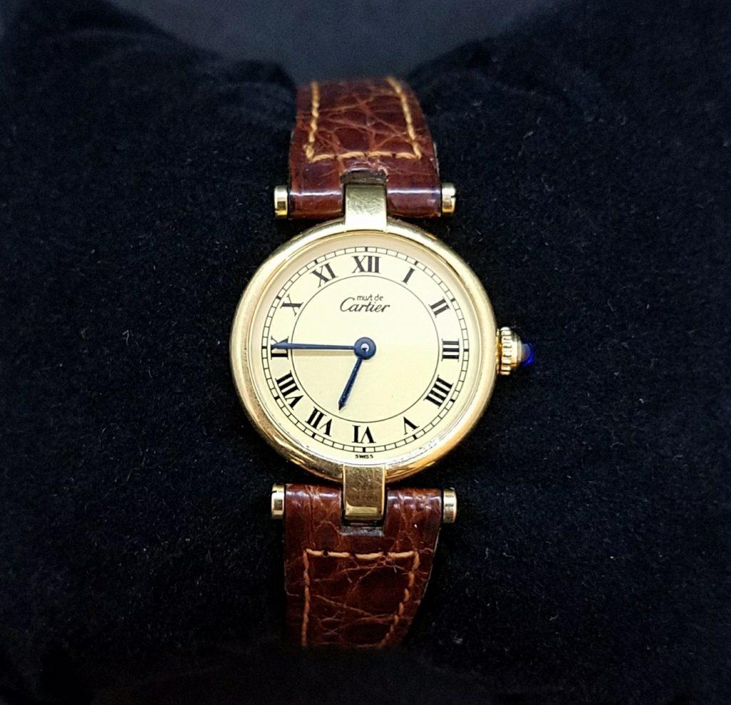 カルティエ マストヴェルメイユ レディース腕時計