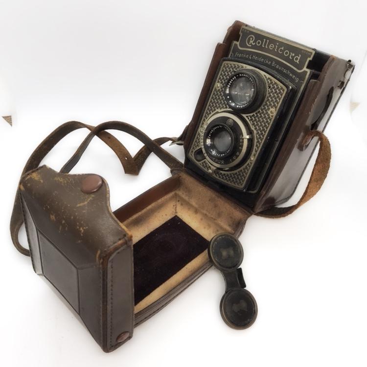 Rolleicord アンティーク二眼レフカメラFranke&Heidecke Braunschweig/ローライコード