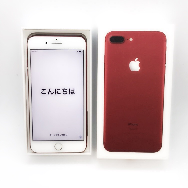 docomo Apple iPhone7 Plus 256GB レッド