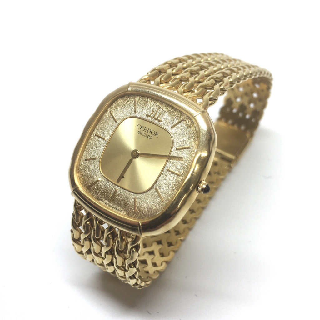 K18使用 SEIKO CREDOR 腕時計