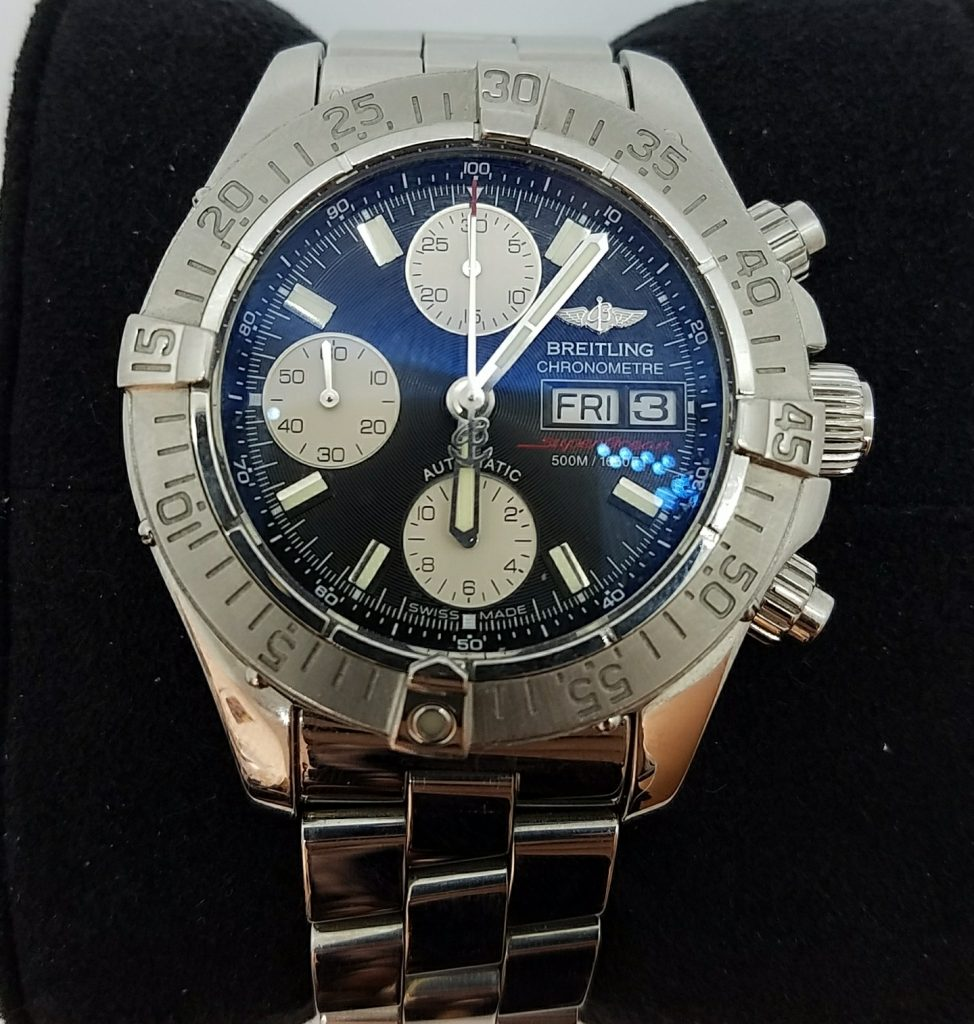 ブライトリング クロノスーパーオーシャン A13340 腕時計