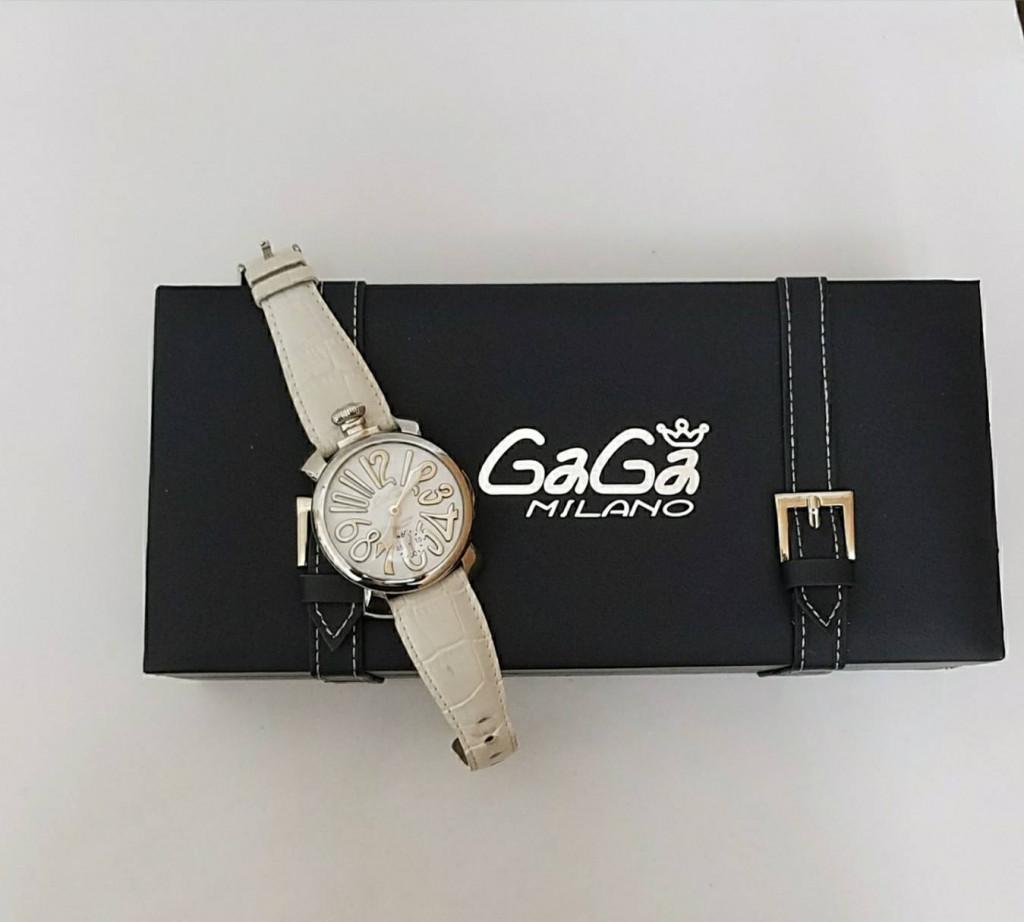 ガガミラノ手巻き 腕時計