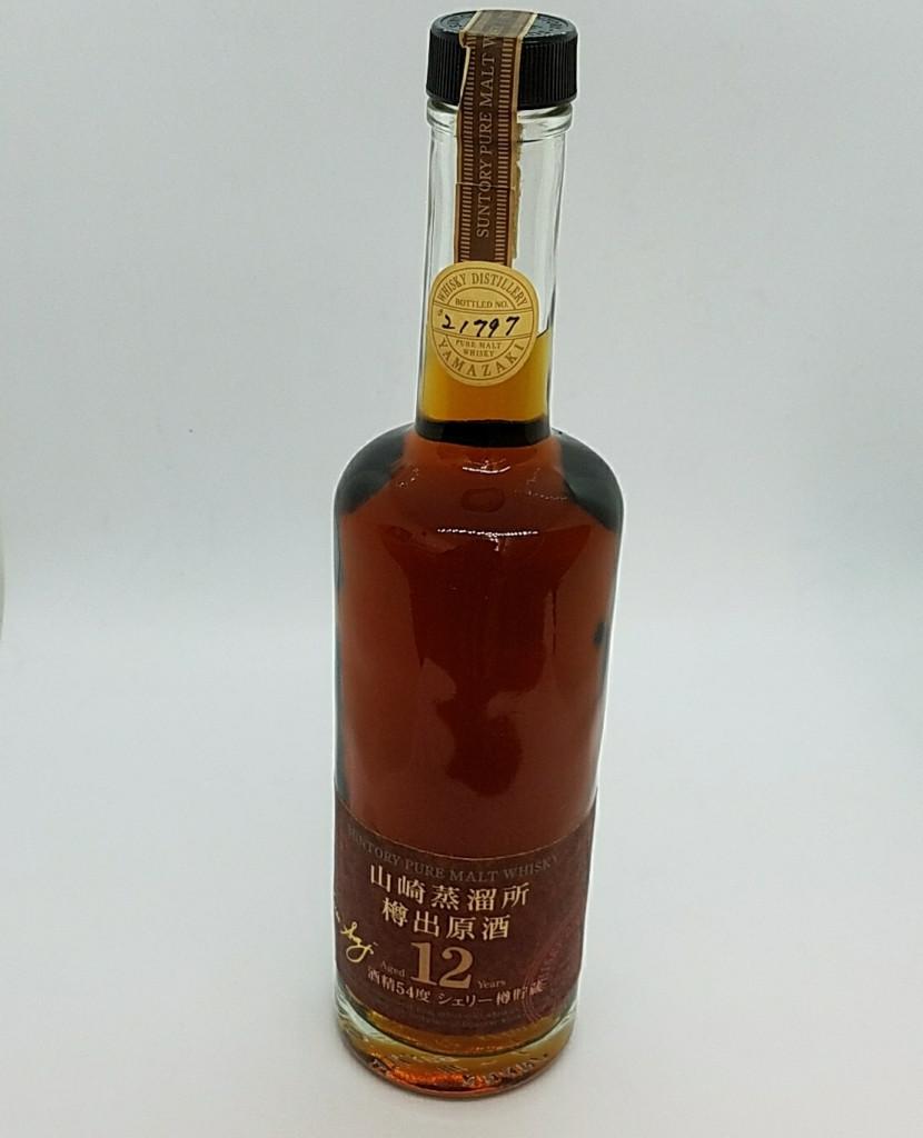 山崎蒸留所 樽出原酒 12年 サントリー ウイスキー