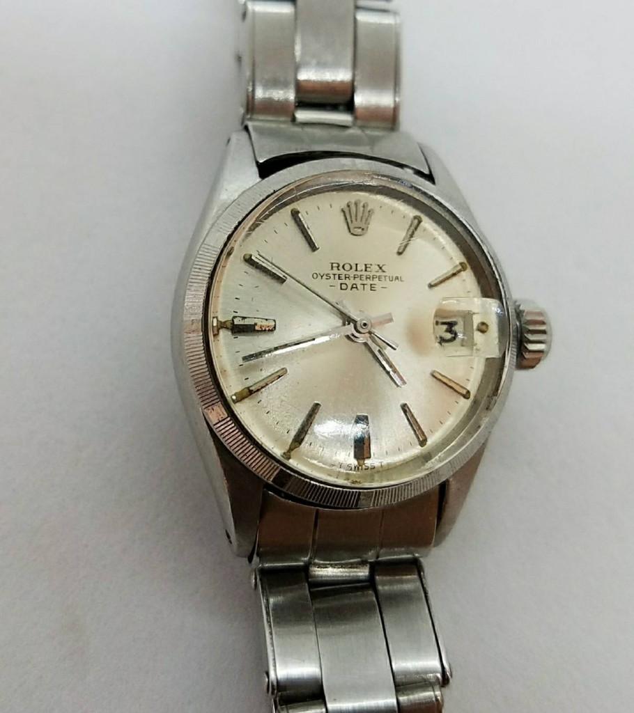 competitive price 564df 14786 ロレックス オイスターパーペチュアルデイト 6519 | 宝石買取の ...