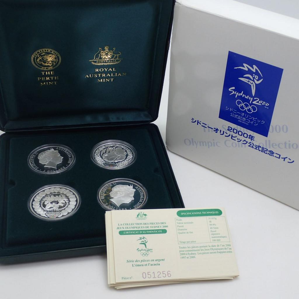2000年シドニーオリンピック公式記念コイン