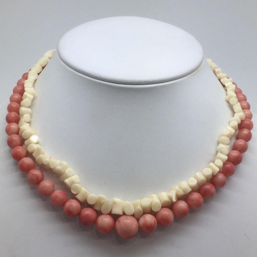 本珊瑚ネックレス