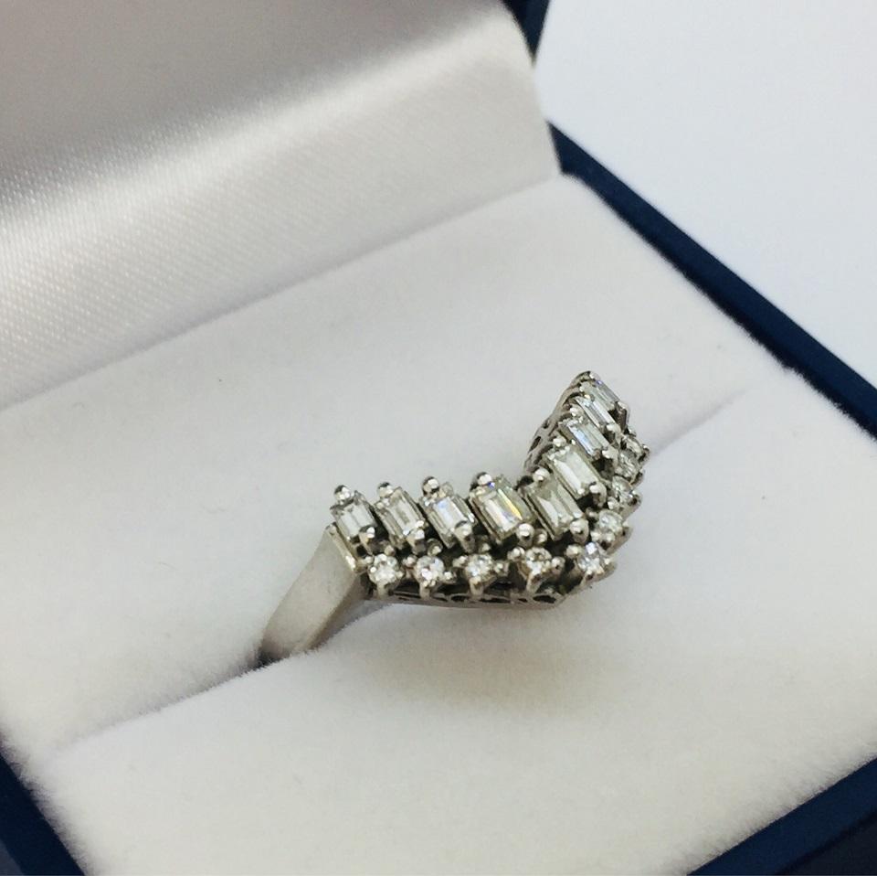 Pt900ダイヤモンドリング1.43ct