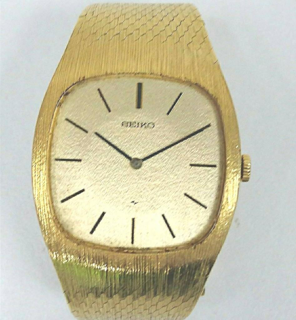 セイコー 18K メンズ腕時計