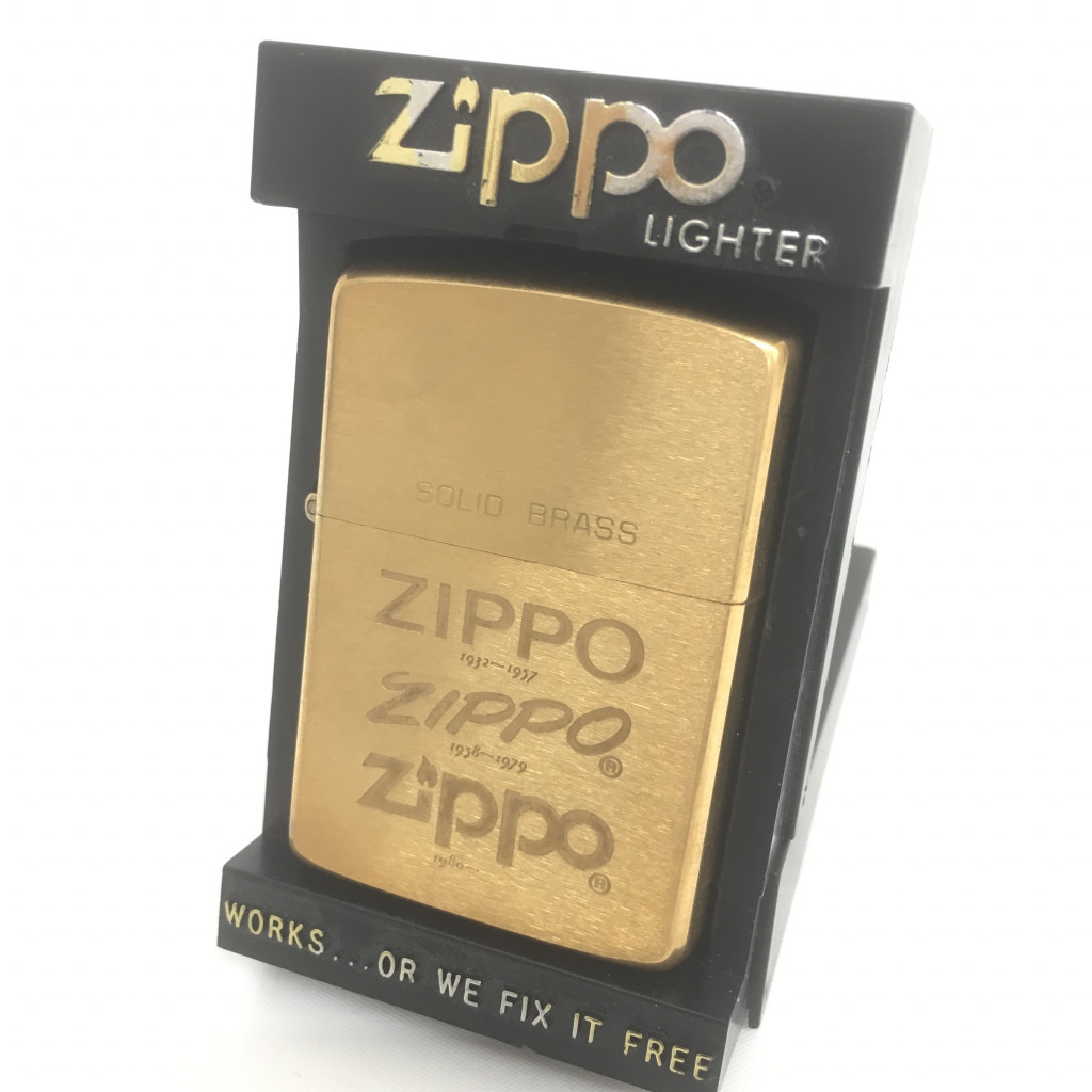 ZIPPOライター 歴代ロゴ入り 1988年製