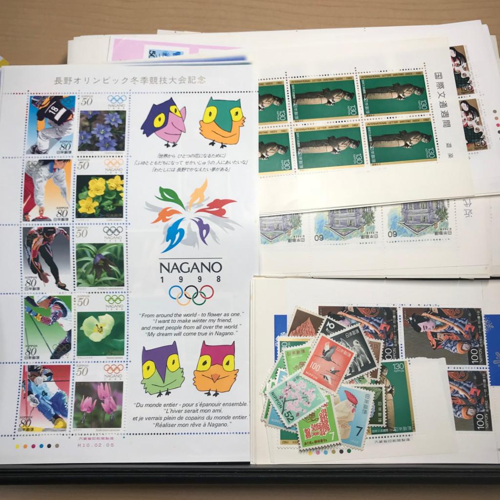 オリンピック記念切手