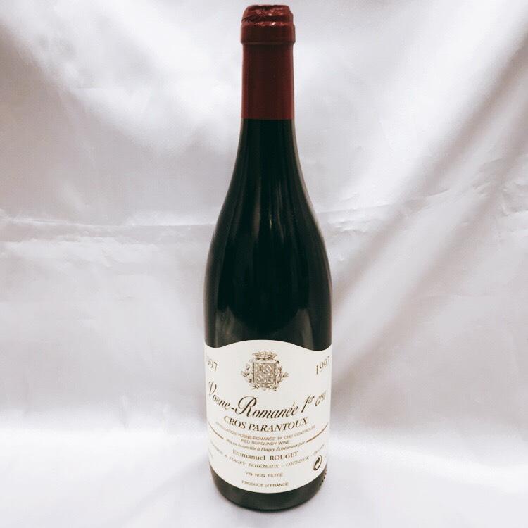 エマニュエル ルジェ ヴォーヌ ロマネ 1er クロ パラントゥ 1997 ワイン