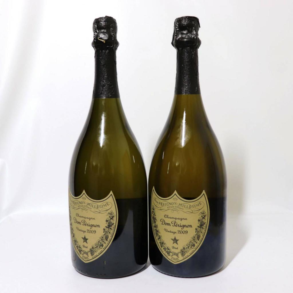 未開栓 白 モエ エ シャンドン ドンペリニヨン シャンパン ヴィンテージ 2009