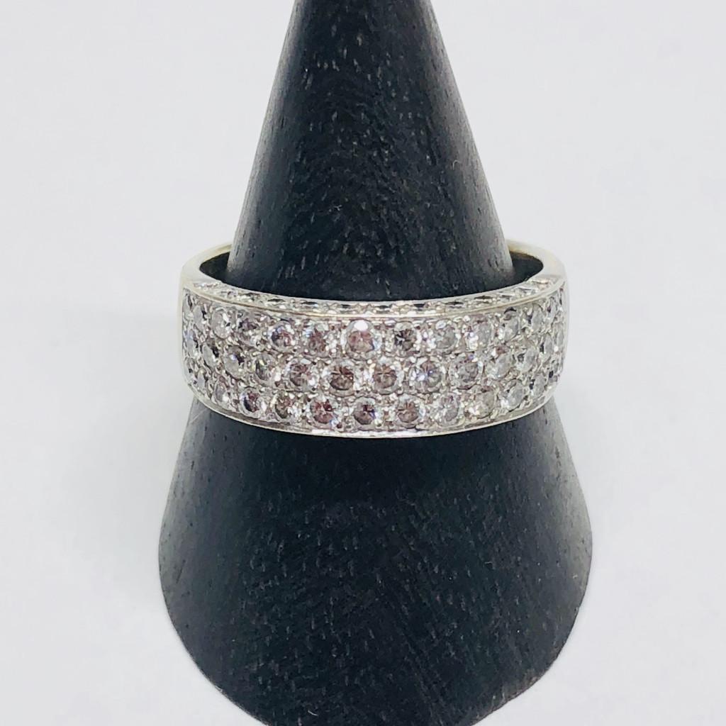 K18 1.24ct ダイヤモンドリング