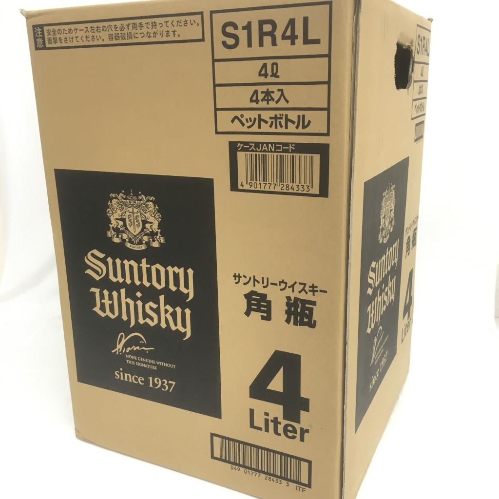 サントリー ウイスキー 角 4Lペットボトル4本セット