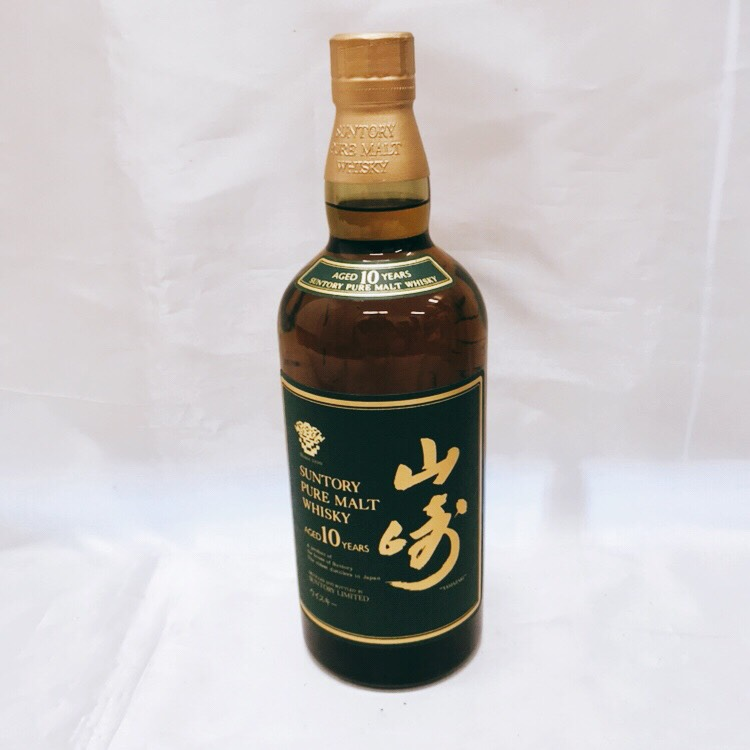 山崎10年 グリーンラベル ウイスキー