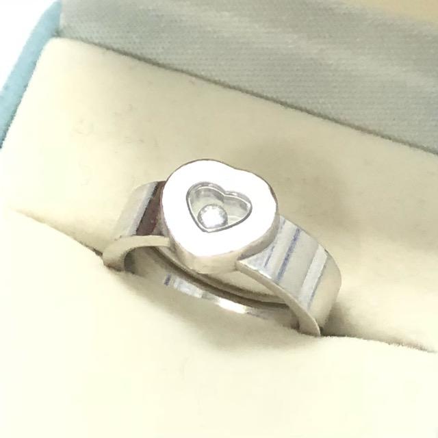 ショパールハッピーダイヤ750リング