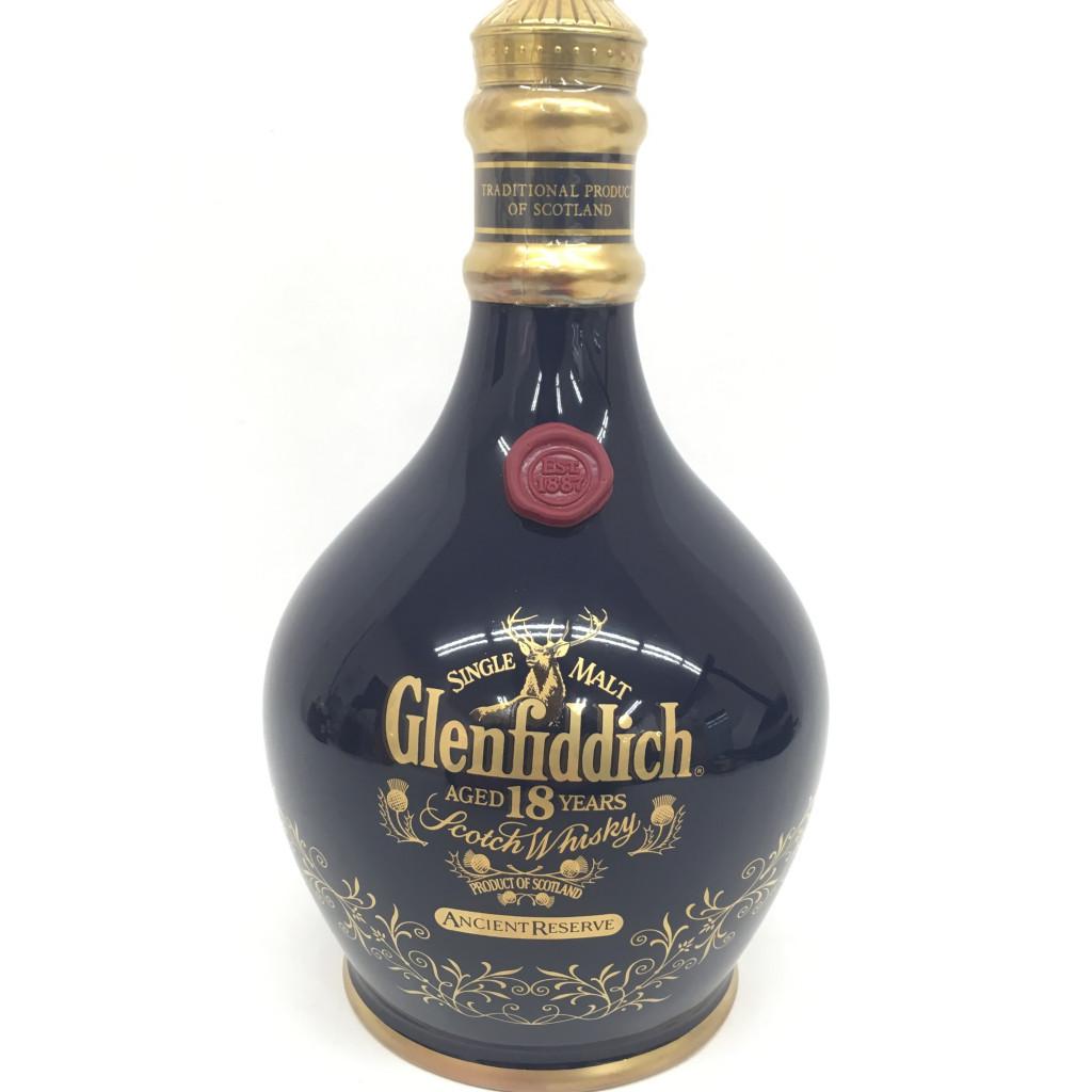 Glenfiddich(グレンフィディック) 18年 陶器ボトル 700ml