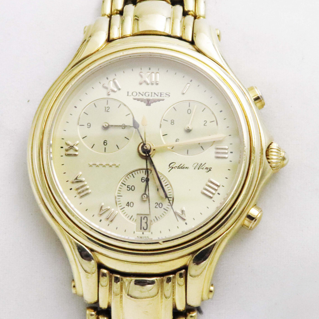 Longines レディース腕時計 K18