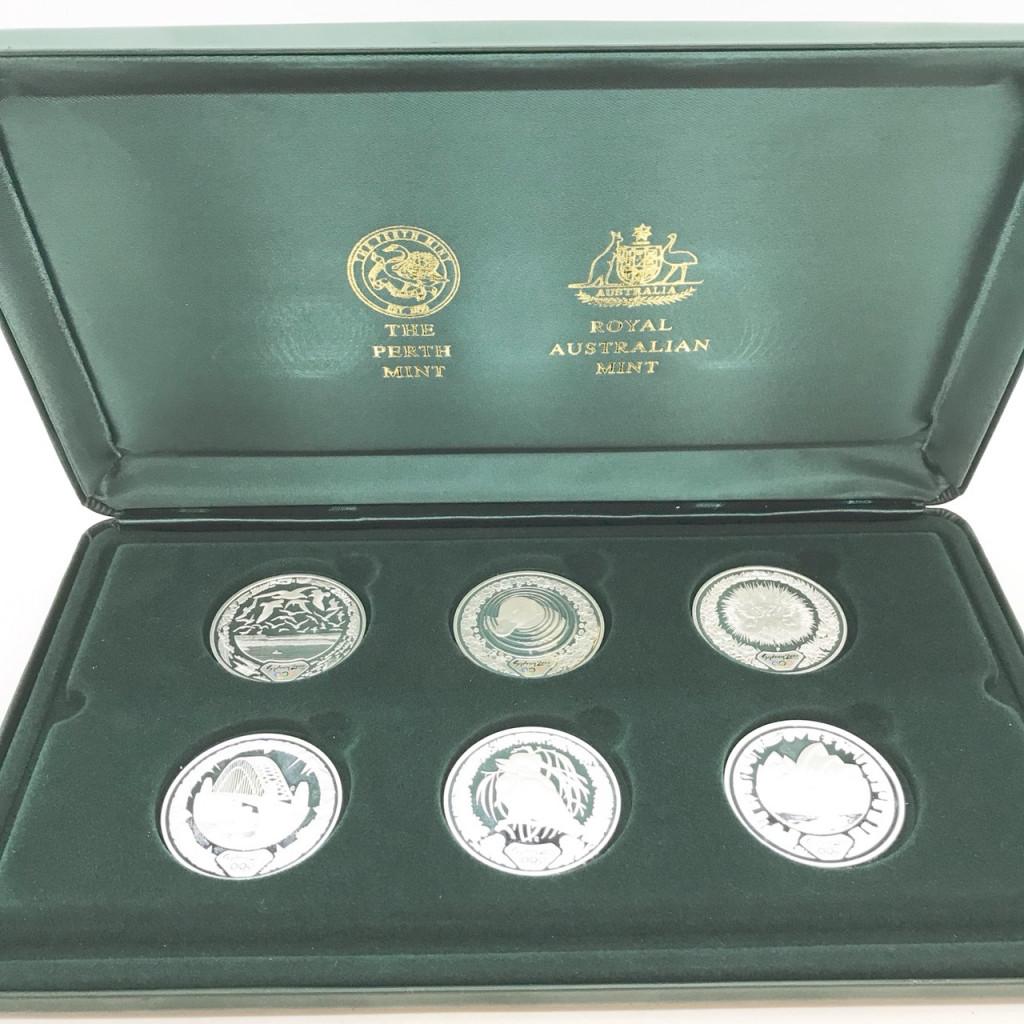 シドニー五輪 記念硬貨コレクション