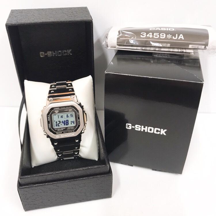 CASIO 35周年記念 G-SHOCK 電波ソーラー フルメタル腕時計