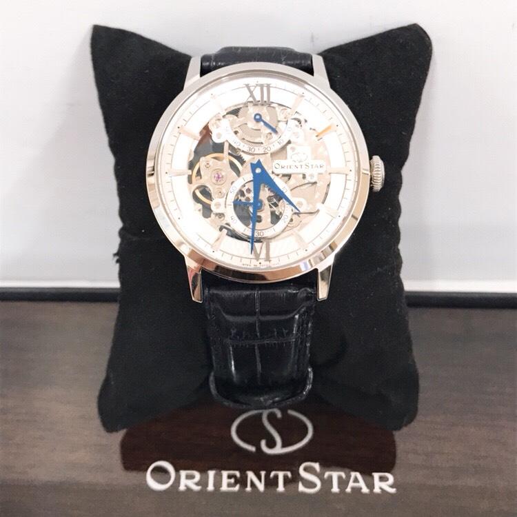 ORIENTSTAR スケルトン腕時計