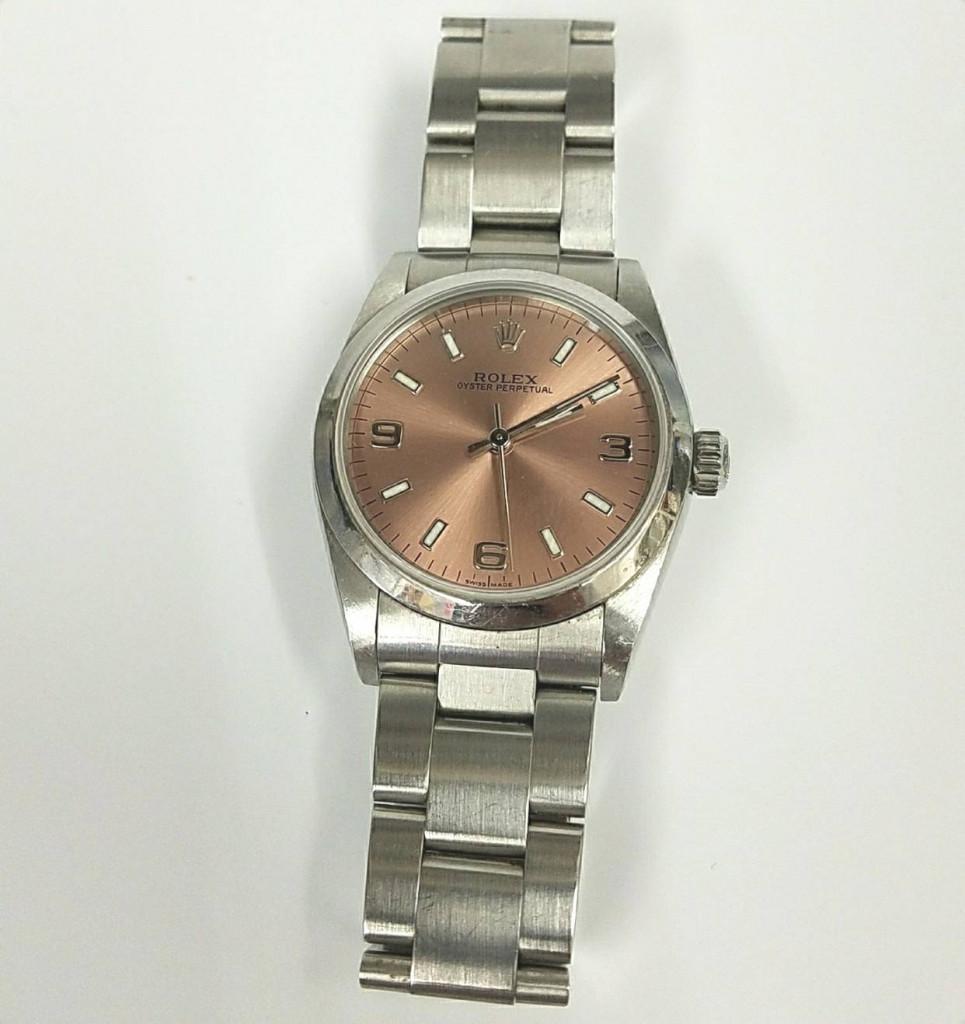 ロレックス  オイスターパーペチュアル  腕時計