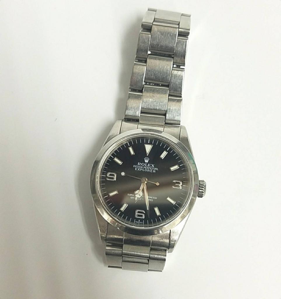 ロレックス  エクスプローラ 腕時計