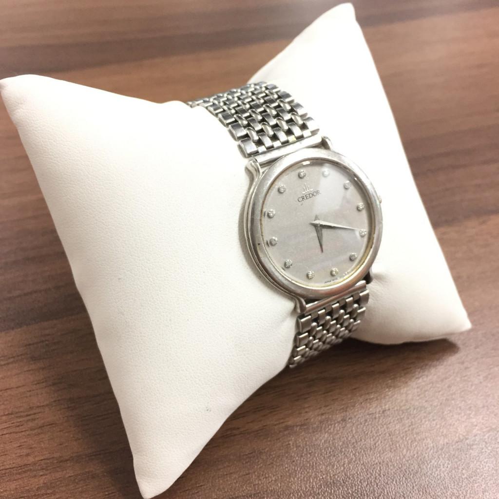 クレドール腕時計ダイヤ12P