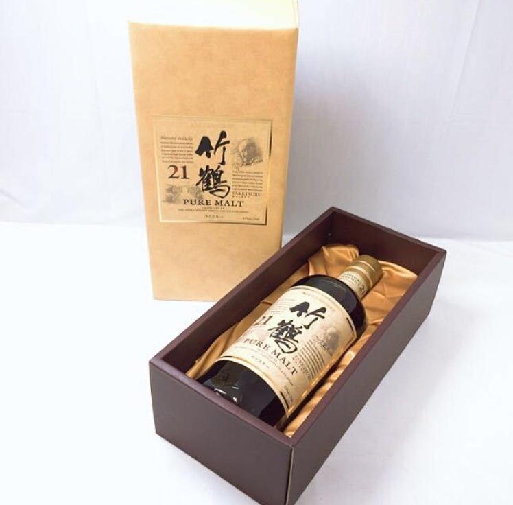 竹鶴 21年 ウイスキー