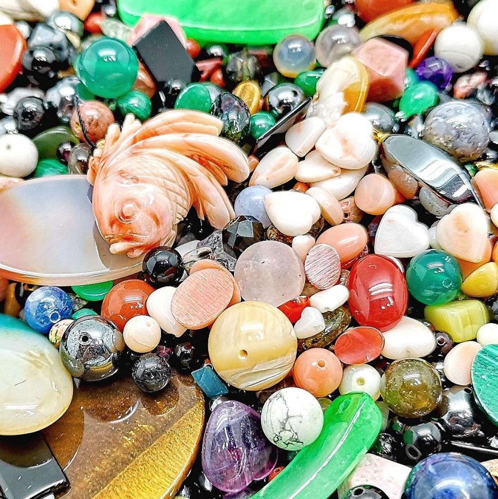 色石まとめ 3000ct カラーストーン 珊瑚 半貴石