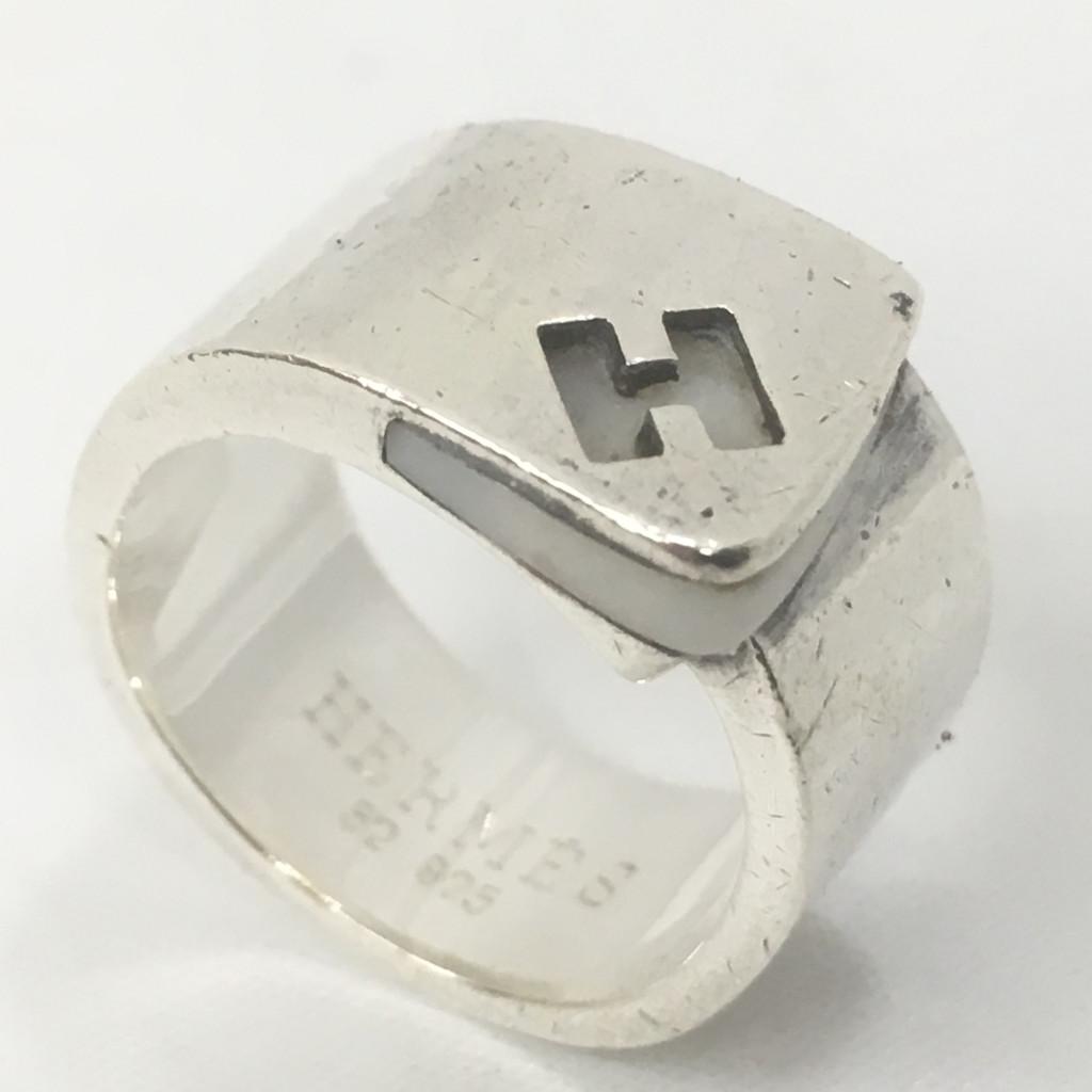 HERMES(エルメス) シルバーリング SV925