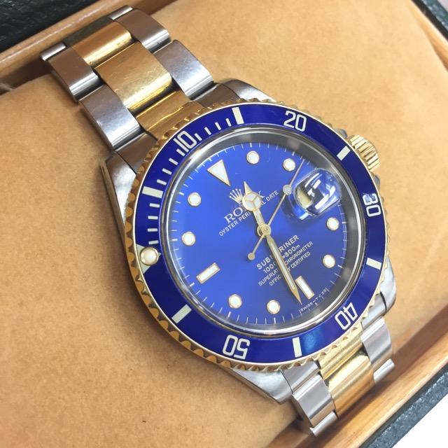 ロレックスサブマリーナ腕時計