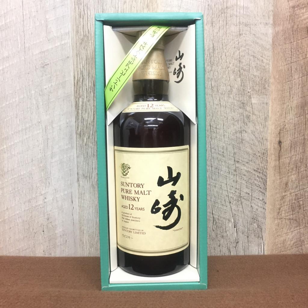 山崎ピュアモルト12年サントリーウイスキー
