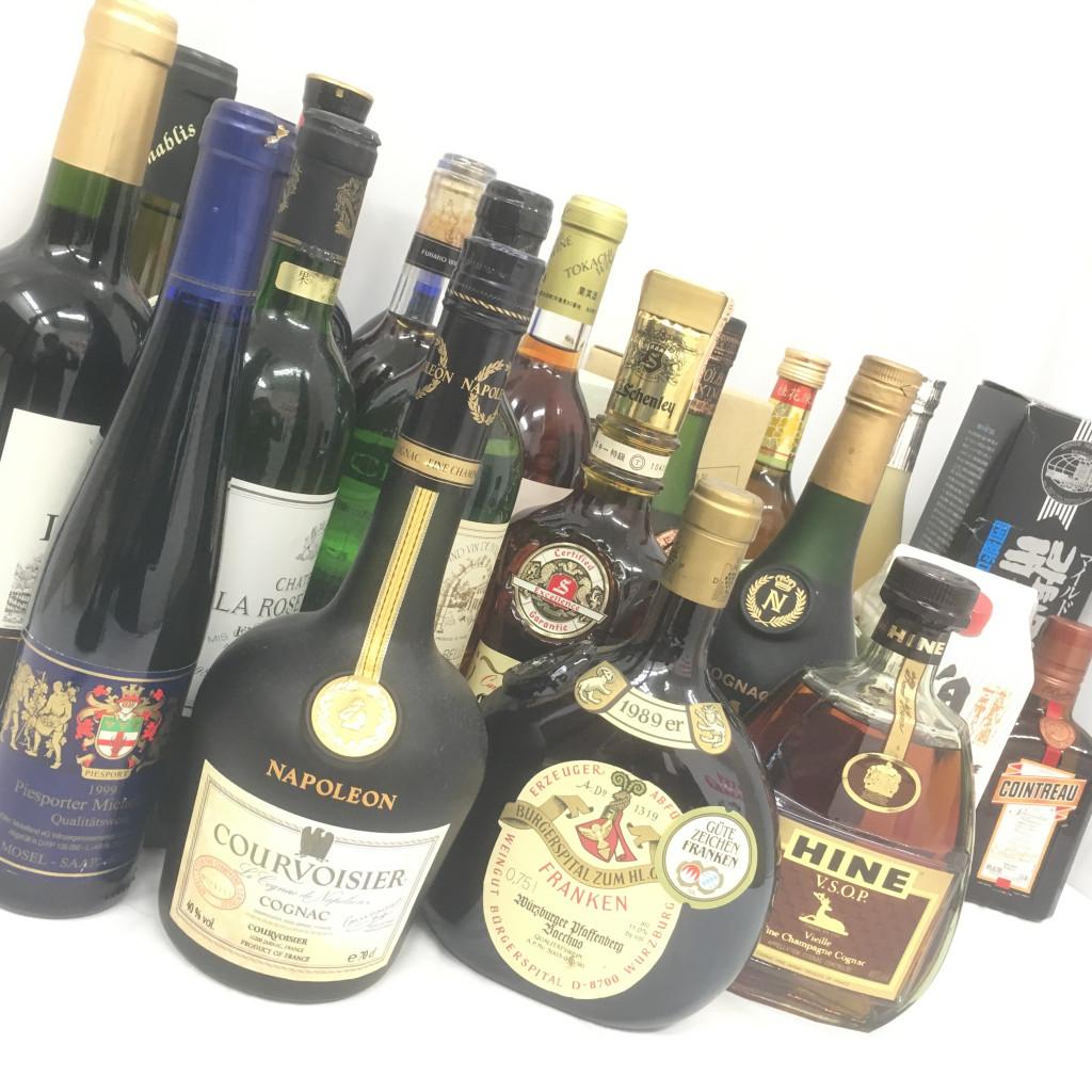 洋酒(ウイスキー・ブランデー)など お酒各種まとめ
