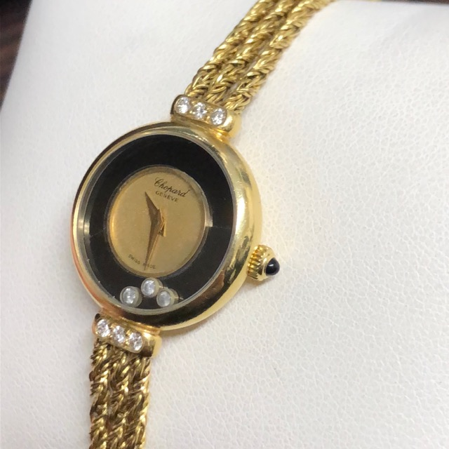 ショパールハッピーダイヤモンドレディース腕時計