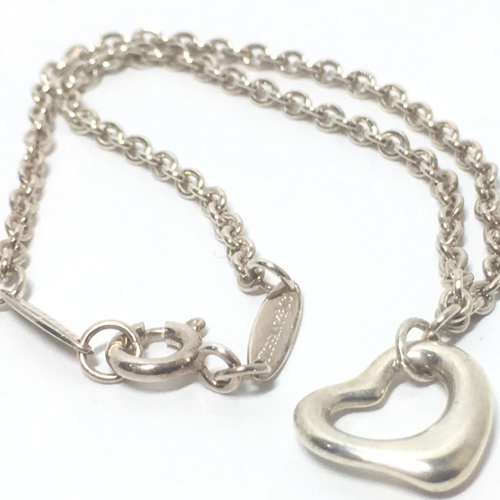 Tiffany & Co.(ティファニー) オープンハートネックレス