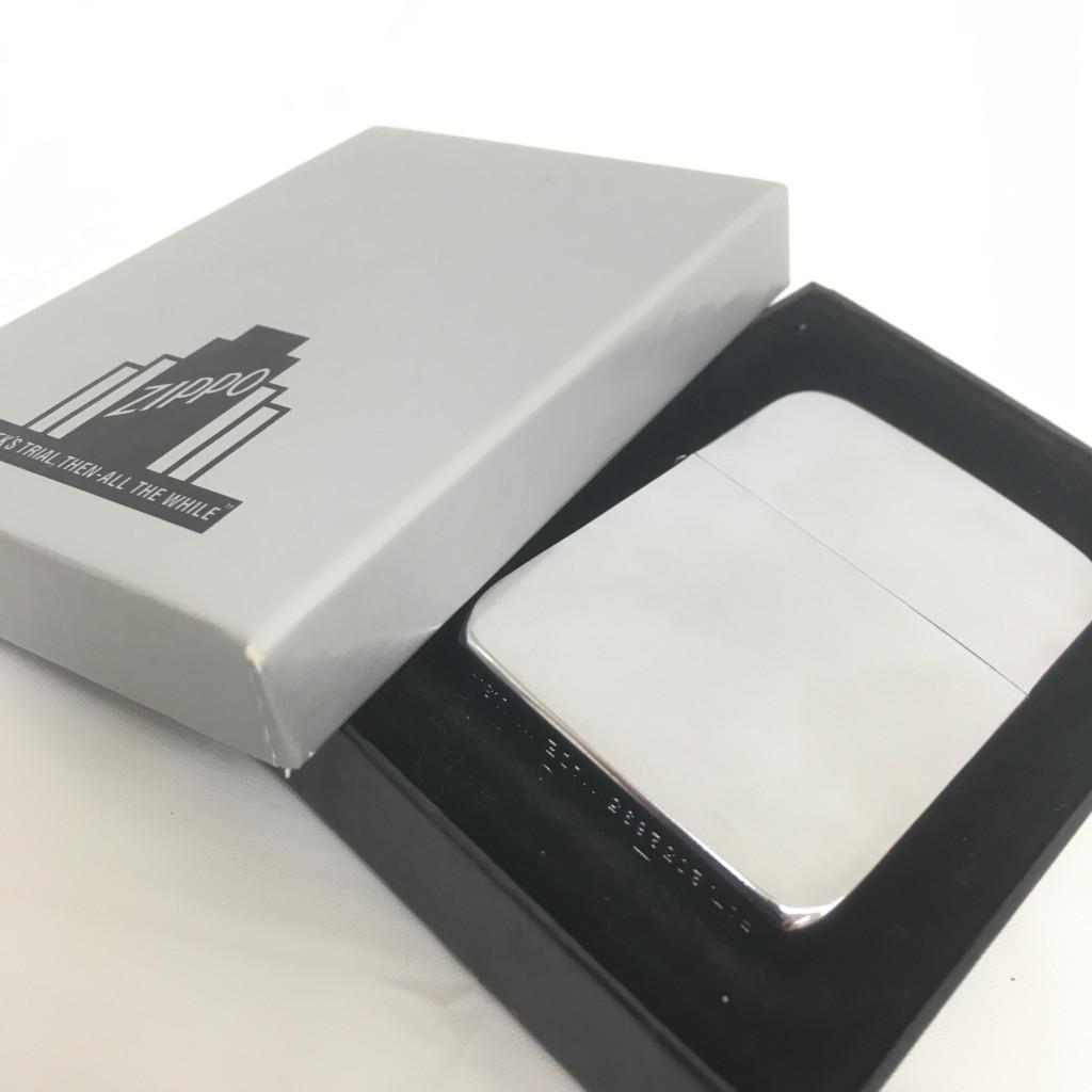 無地 新品箱付きZIPPO(ジッポーライター)