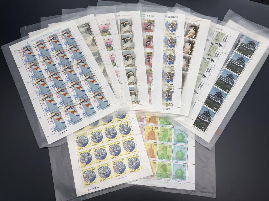 切手 シートの買取