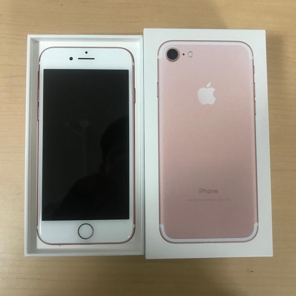 iPhone7 ローズゴールド